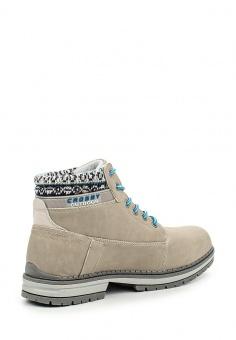 Тимберленды Crosby, цвет: серый. Артикул: CR004AWKDV86. Женская обувь / Ботинки / Тимберленды и др.