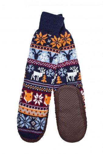 Носки домашние Норвэй стайл. Купить за 950 р. в интернет-магазине frenza.ru