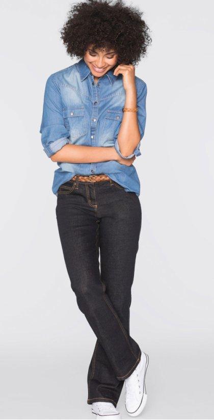 Модные джинсы на любой вкус в Интернет-магазине bonprix!